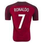 Portugal 2016 RONALDO Authentic Home Soccer Jersey