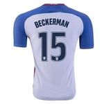 USA 2016 BECKERMAN Authentic Home Soccer Jersey
