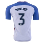 USA 2016 BIRNBAUM Authentic Home Soccer Jersey