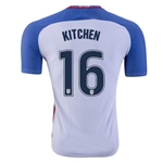 USA 2016 KITCHEN Authentic Home Soccer Jersey