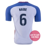 USA 2016 NAGBE Authentic Home Soccer Jersey
