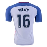 USA 2016 NGUYEN Authentic Home Soccer Jersey