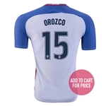 USA 2016 OROZCO Authentic Home Soccer Jersey
