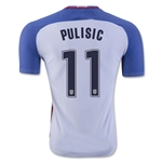 USA 2016 PULISIC Authentic Home Soccer Jersey
