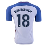 USA 2016 WONDOLOWSKI Authentic Home Soccer Jersey