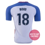 USA 2016 WOOD Authentic Home Soccer Jersey