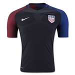 USA 2016 Authentic Away Soccer Jersey