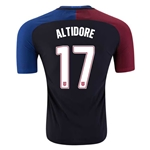 USA 2016 ALTIDORE Authentic Away Soccer Jersey
