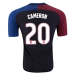 USA 2016 CAMERON Authentic Away Soccer Jersey