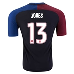 USA 2016 JONES Authentic Away Soccer Jersey