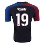 USA 2016 MIAZGA Authentic Away Soccer Jersey