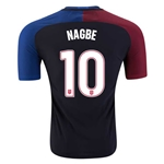 USA 2016 NAGBE Authentic Away Soccer Jersey