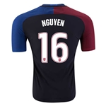 USA 2016 NGUYEN Authentic Away Soccer Jersey