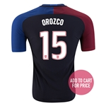USA 2016 OROZCO Authentic Away Soccer Jersey