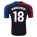 USA 2016 WONDOLOWSKI Authentic Away Soccer Jersey