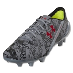 Under Armour Speedform CRM AE FG (Steel/Black/Red)