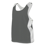 Nike Stock Women's Mesh Reversible Tank (Dk Gray)