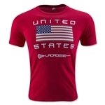 USA Lacrosse T-Shirt (Red)