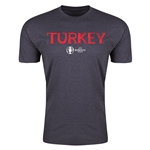 Turkey UEFA Euro 2016 Country T-Shirt