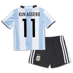 Argentina 2016 KUN AGUERO Home Mini Kit