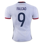 Colombia 2016 FALCAO Authentic Home Soccer Jersey