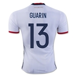 Colombia 2016 GUARIN Authentic Home Soccer Jersey