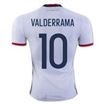 Colombia 2016 VALDERRAMA Authentic Home Soccer Jersey
