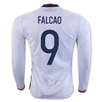 Colombia 2016 FALCAO LS Home Soccer Jersey