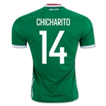 Mexico 2016 CHICHARITO Home Soccer Jersey