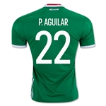 Mexico 2016 P. AGUILAR Home Soccer Jersey
