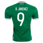 Mexico 2016 R. JIMENEZ Home Soccer Jersey