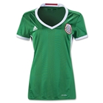 Mexico 2016 Women's Home Soccer Jersey