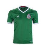 Mexico 2016 Youth Home Soccer Jersey