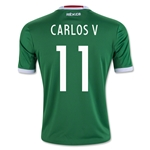 Mexico 2016 CARLOS V Youth Home Soccer Jersey