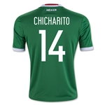Mexico 2016 CHICHARITO Youth Home Soccer Jersey