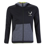 adidas Messi Youth Full Zip Hoody (Black)