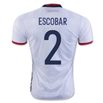 Colombia 2016 ESCOBAR Home Soccer Jersey
