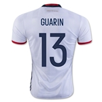 Colombia 2016 GUARIN Home Soccer Jersey