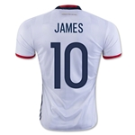 Colombia 2016 JAMES Home Soccer Jersey