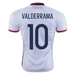 Colombia 2016 VALDERRAMA Home Soccer Jersey