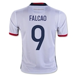 Colombia 2016 FALCAO Youth Home Soccer Jersey