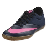 Nike Mercurial X Pro IC (Midnight Navy/Pink Blast)