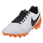 Nike Tiempo Legacy II AG-R (White/Total Orange)