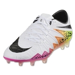 Nike Hypervenom Phinish II FG (White/Total Orange)
