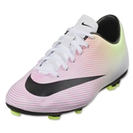 Nike Mercurial Victory V FG Junior (White/Volt)