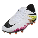 Nike Hypervenom Phelon II FG Junior (White/Total Orange)