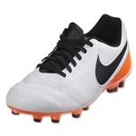 Nike Tiempo Legend 6 FG Junior (White/Total Orange)