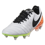 Nike Tiempo Legend 6 SG-Pro (White/Total Orange)