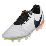 Nike Tiempo Legend VI FG (White/Total Orange)
