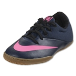 Nike Mercurial X Pro IC Junior (Midnight Navy/Pink Blast)